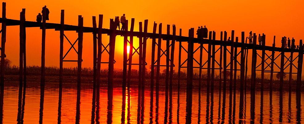 Мостът Ю Бейн, Мианмар
