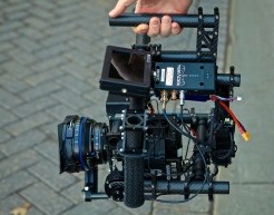 """The """"MōVI"""" - a digital 3-axis gyro-stabilized handheld camera gimbal"""