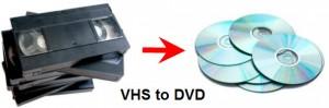Прехвърляне на видеокасетина диск